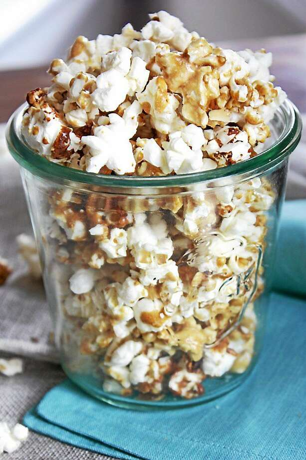 It's Only Natural Restaurant of Middletown offers this recipe for Salted Caramel Almond Popcorn. Photo: Courtesy Photo