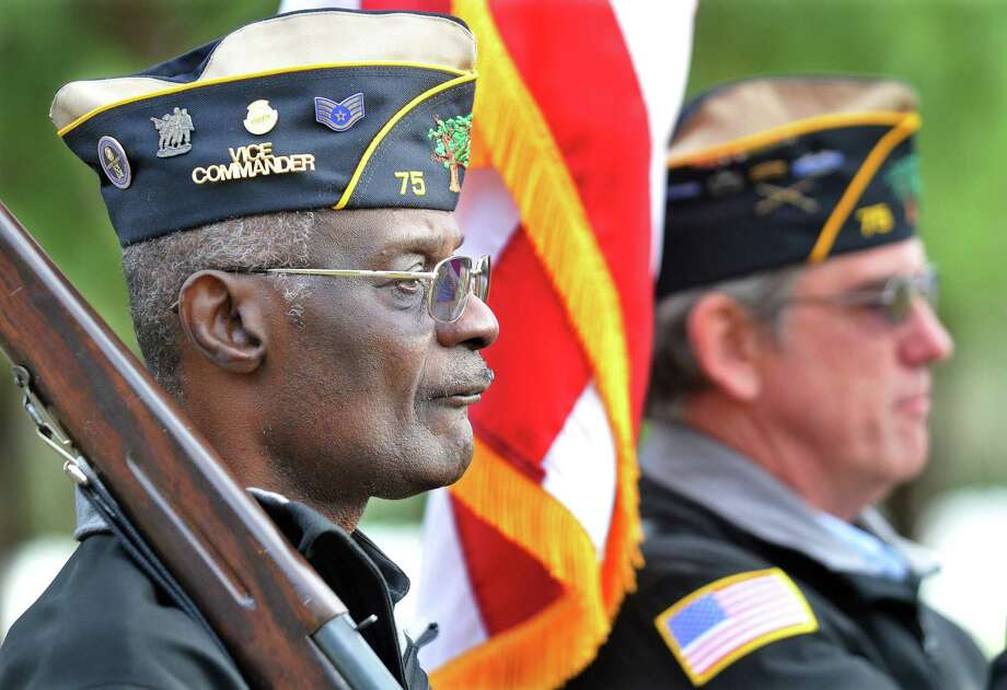 On Sept. 9, Middletown resident Larry Riley was installed as the first African-American commander of American Legion Milardo-Wilcox Post 75. Photo: File Photo  / TheMiddletownPress