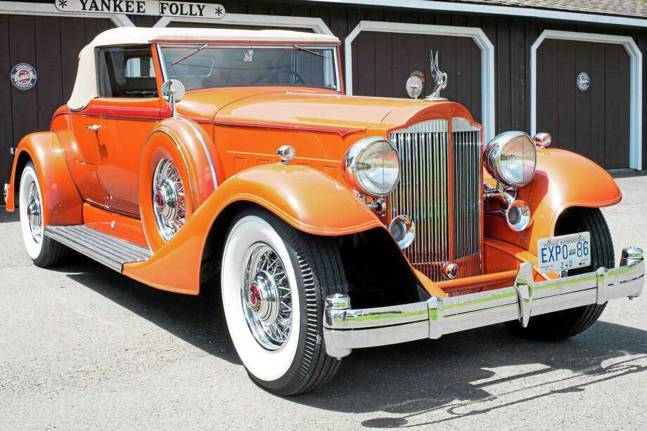 In the early 1930s, Packard was the most-sought after luxury car made in America. It will be featured at the Middlesex County Historical Society car show in October. Photo: Courtesy Photo