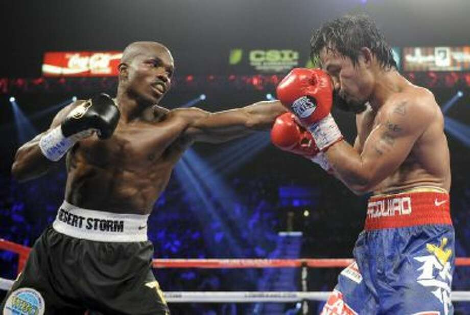 Timothy Bradley, left, defeated Manny Pacquiao with a controversial decision June 9, 2012 in Las Vegas.