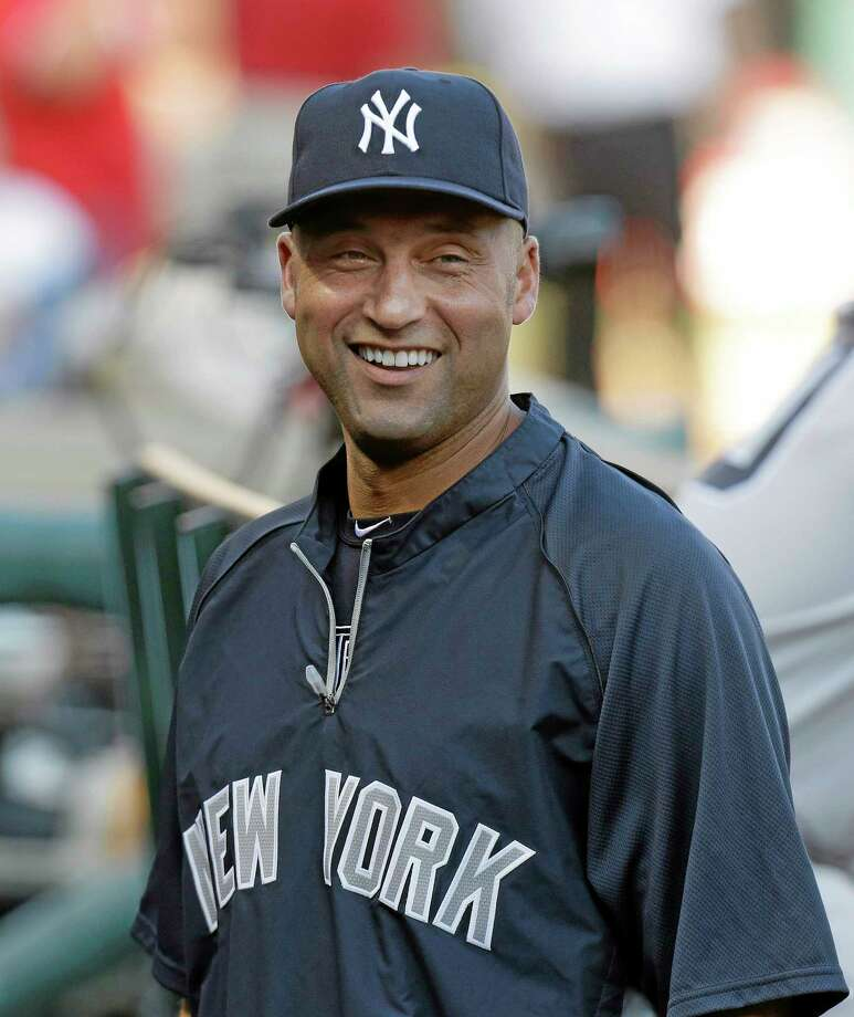 New York Yankees shortstop Derek Jeter said Friday the signing of Japanese right-hander Masahiro Tanaka was a major addition to the team's starting rotation. Photo: LM Otero — The Associated Press  / AP