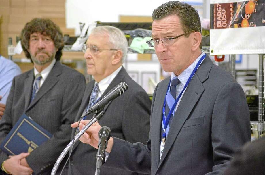 File photo: Governor Dannel P. Malloy. Photo: John Berry/Register Citizen