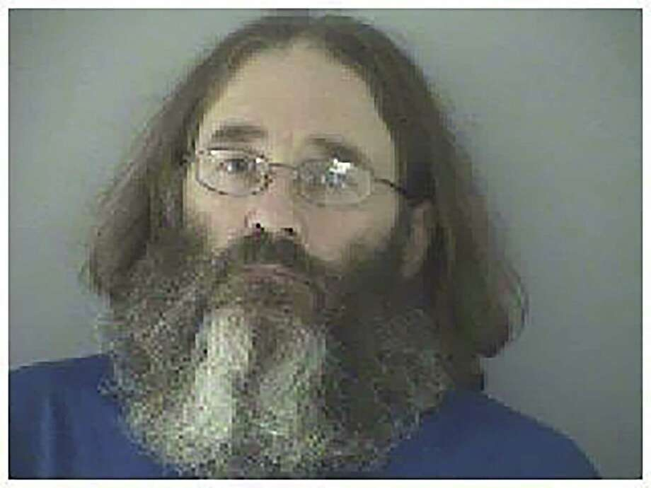 "This undated photo made available by the Butler County Jail shows James Hammes. Arrested by federal agents in May 2015 at Damascus, Va., near the Appalachian Trail, Hammes is facing federal trial in Cincinnati in October for embezzlement. He had been a fugitive for six years, hiking under the name ""Bismarck."" Photo: Butler County Jail Via AP  / Butler County Jail"