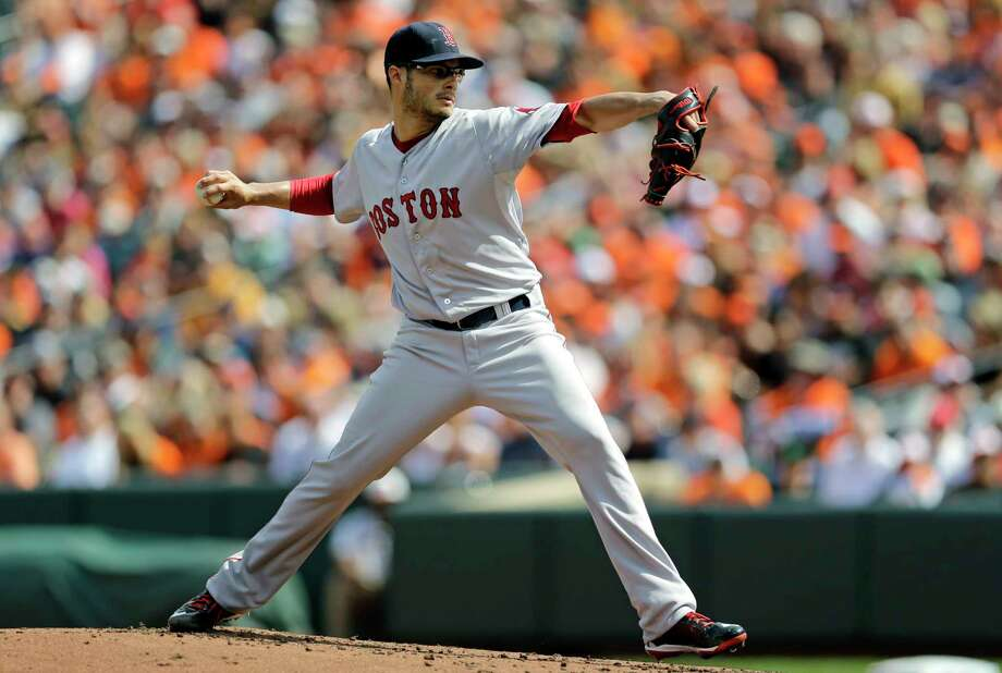 Red Sox starting pitcher Joe Kelly pitched seven innings of three-hit ball against the Orioles on Sunday. Photo: Patrick Semansky — The Associated Press  / AP