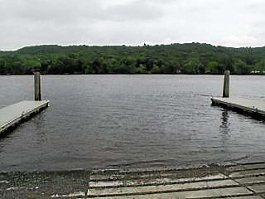 The Connecticut River at Haddam boat launch Photo: Connecticut DEEP