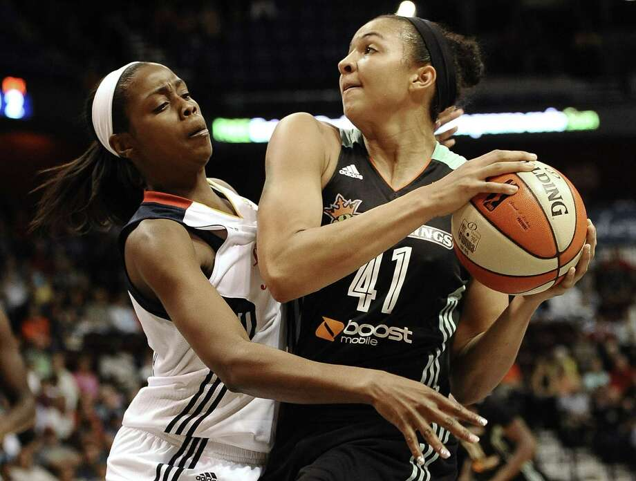 Kiah Stokes has transitioned from defensive role player for the three-time defending champion UConn  Huskies to multifaceted spark plug off the bench for the resurgent New York Liberty. Photo: The Associated Press File Photo  / FR125654 AP
