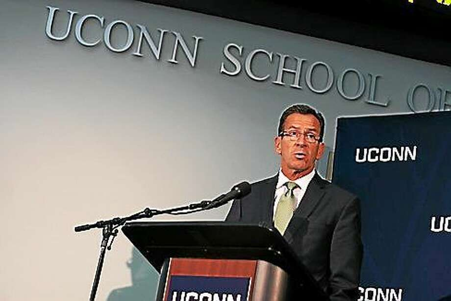 Gov. Dannel P. Malloy. Photo: Hugh McQuaid - CT News Junkie
