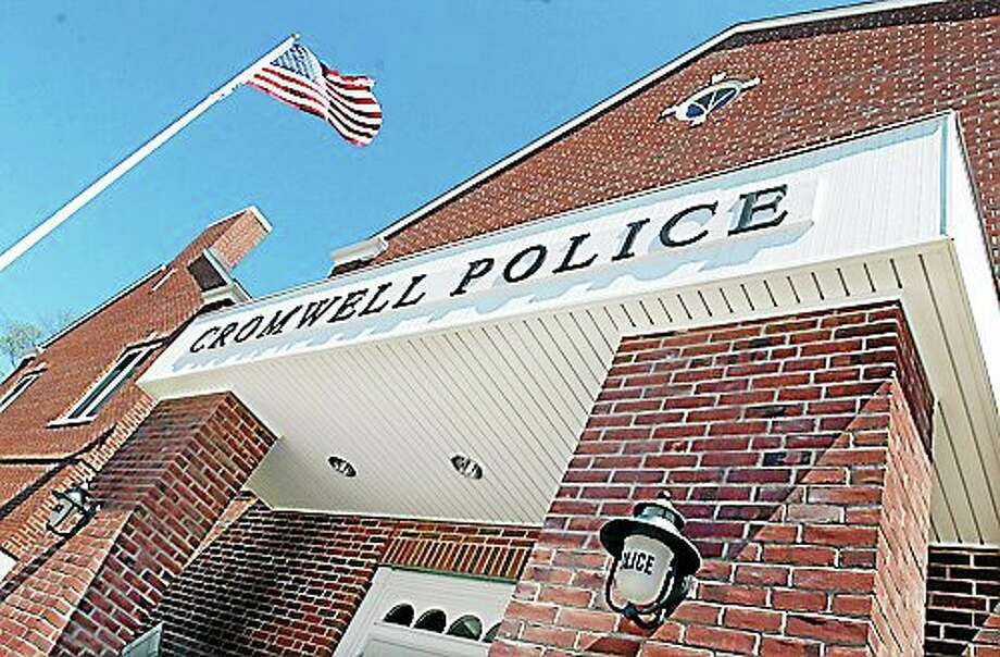 Cromwell Police headquarters Photo: Catherine Avalone - The Middletown Press