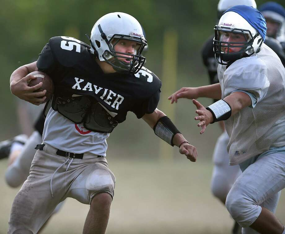 Xavier hosts North Haven tonight, 7 p.m. at Palmer Field. Photo: Catherine Avalone — The Middletown Press  / The Middletown Press