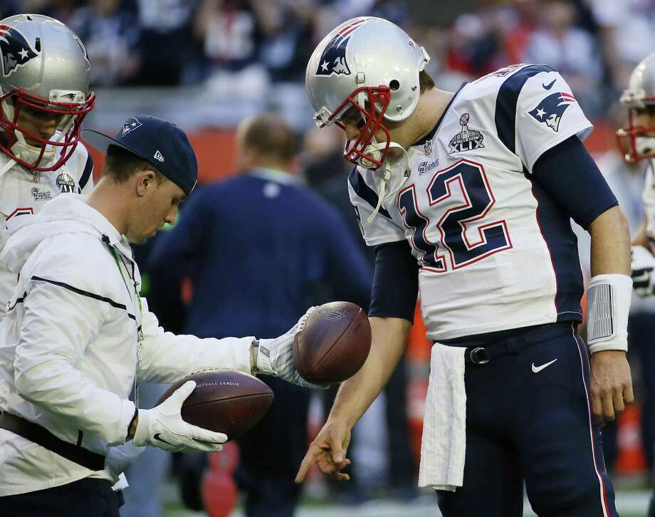 Tom Brady is expected to file an appeal of his four-game suspension for his role in deflating footballs for the AFC championship game. Photo: Matt York — The Associated Press File Photo  / AP