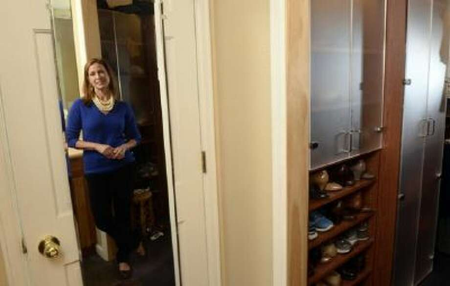 "Image consultant Marian Rothschild is author of a new book ""Look Good Now."" She was at her Boulder home on Monday, January 20, 2014 showing off her closet and tips that help."