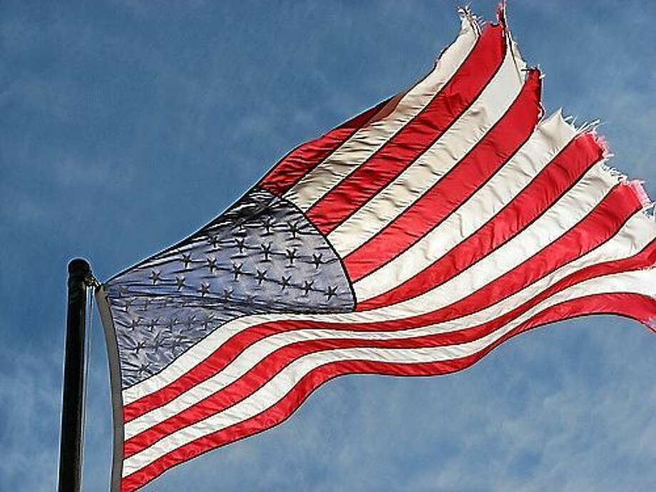 File photo American flag