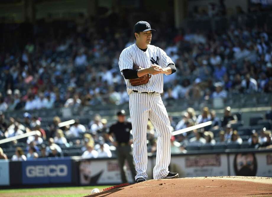 Masahiro Tanaka will start for the Yankees on Friday night against the Mets in the Subway Series. Photo: Kathy Kmonicek — The Associated Press  / FR170189 AP