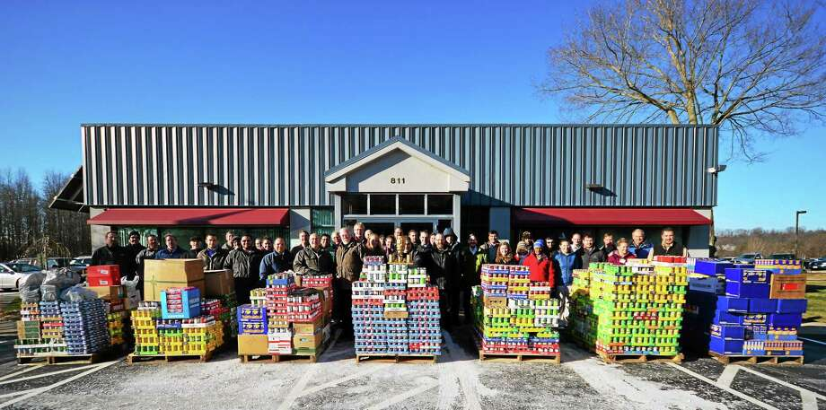 Consulting Engineering Services of Middletown again won the annual Salvation Army Architects and Engineers Can Challenge with a donation of over 13,000 food items and more than $3,500. Photo: File Photo