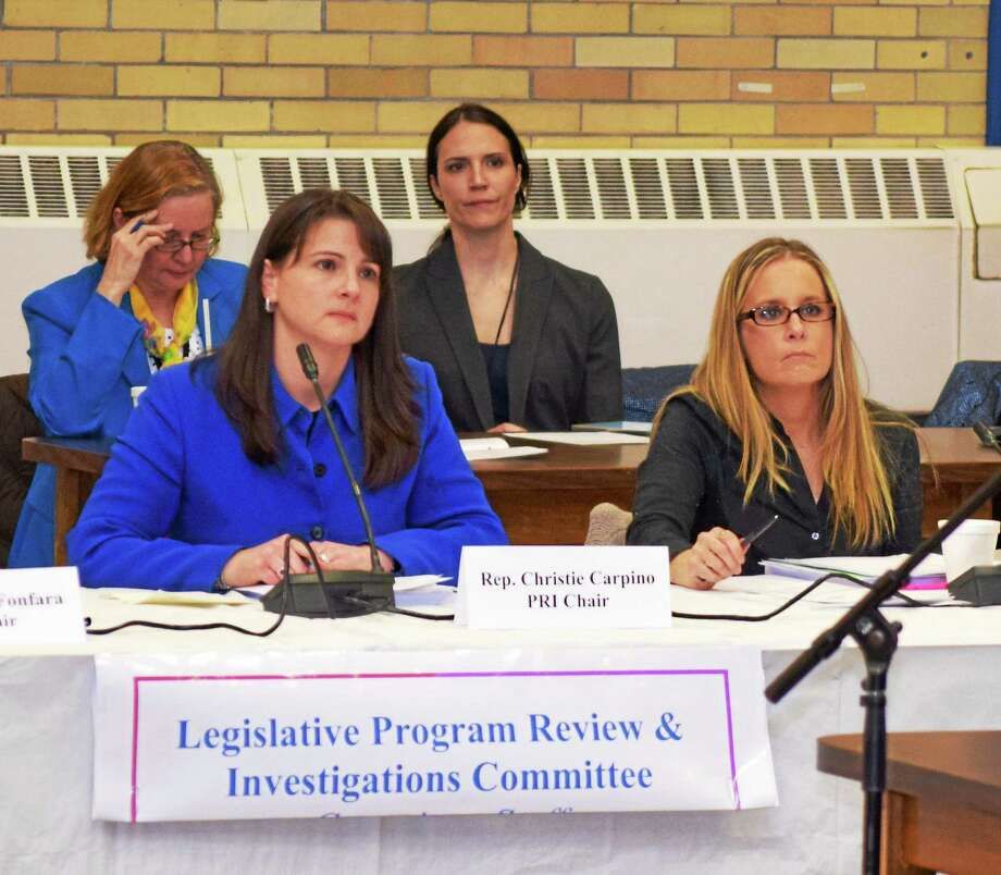 State Rep. Christie Carpino, shown, and state Sen. Paul Doyle co-sponsored legislation that addresses placements, financial impacts and other concerns raised by group homes in Cromwell and throughout Connecticut. Photo: Courtesy House Republicans