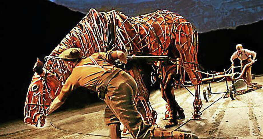 """Submitted photo - The Bushnell Performing Arts Center Puppetry plays a notable role in the upcoming performances of """"War Horse"""" at the Bushnell Performing Arts Center. Photo: Journal Register Co."""