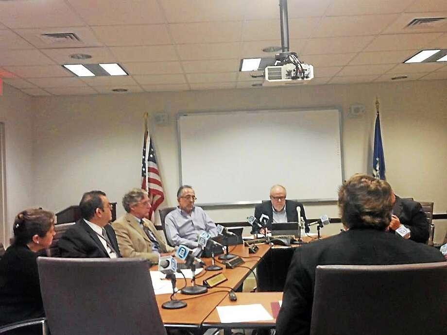 The State Elections Enforcement Commission meeting. Photo: Christine Stuart — CTNewsJunkie.com