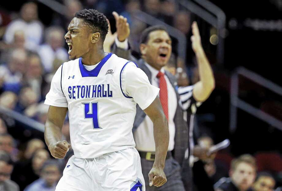Seton Hall guard Sterling Gibbs is transferring to UConn. Photo: Mel Evans — The Associated Press  / AP