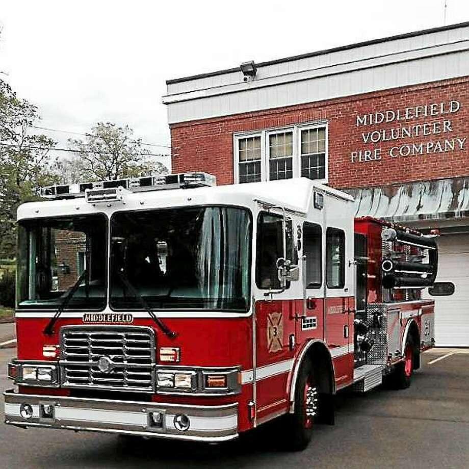 Courtesy  Middlefield Volunteer Fire Co. Photo: Journal Register Co.