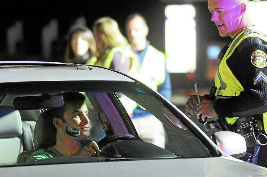 On Thursday, state police officers will set up checkpoints on Route 9 in Middletown and Route 66 in Middlefield. Photo: File Photo  / © 2013 Tom Kelly IV