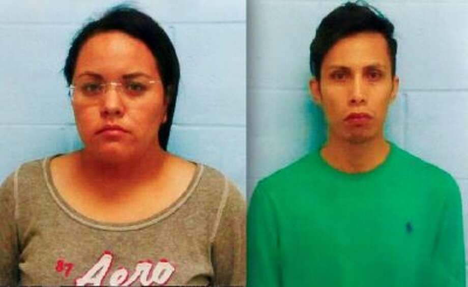 Mary Carmen Garcia, left, and Daniel Guardiola Dominguez, are shown in photos provided by police in McAllen, Texas.