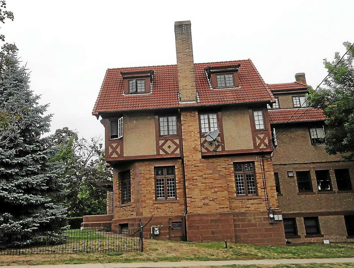 Beta Theta Pi is one of several fraternities on campus at Wesleyan University in Middletown.