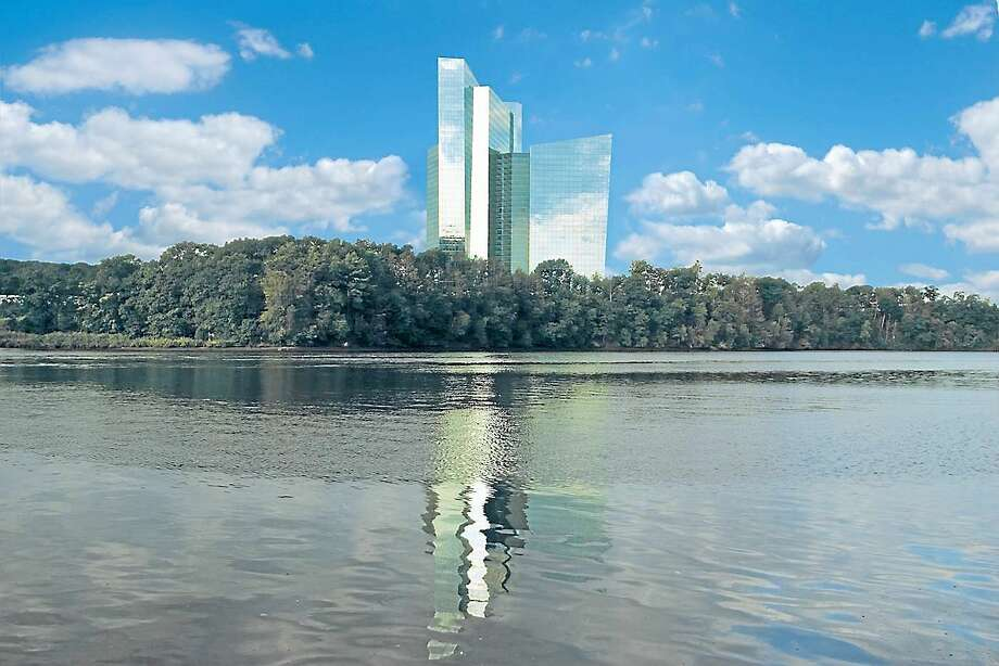 The Mohegan Sun hotel building. (Submitted photo) Photo: Journal Register Co.