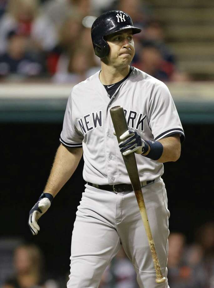 Yankees first baseman Mark Teixeira will miss the remainder of the season with a leg fracture. Photo: The Associated Press File Photo  / AP
