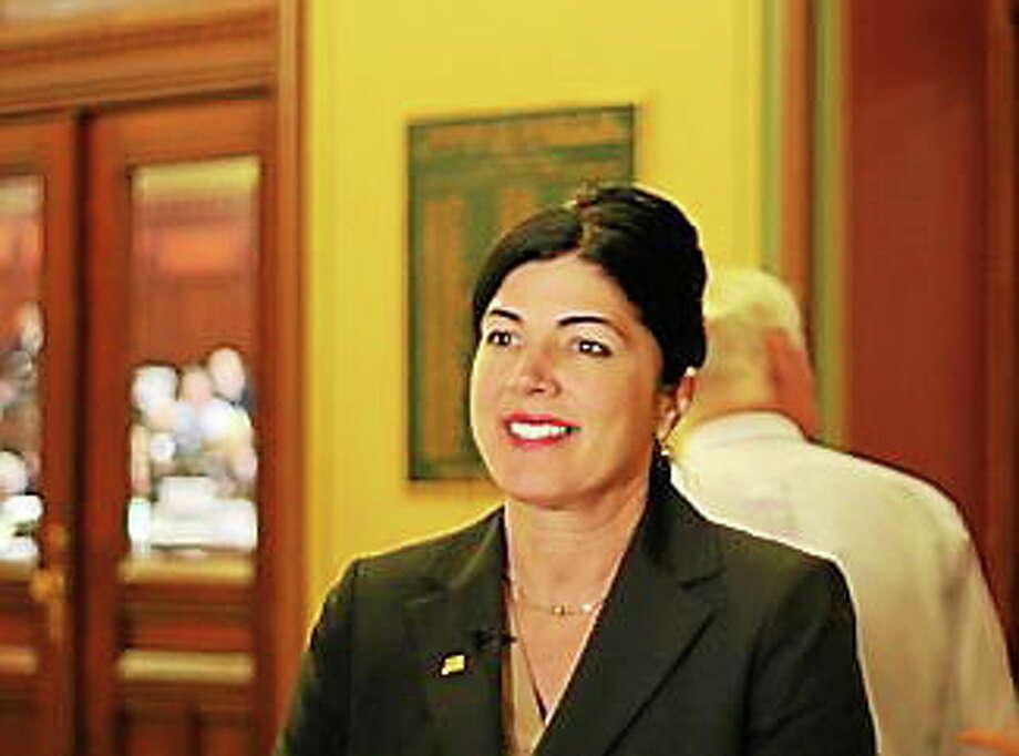 Rep. Penny Bacchiochi Photo: (HUGH MCQUAID — CTNEWSJUNKIE.COM)