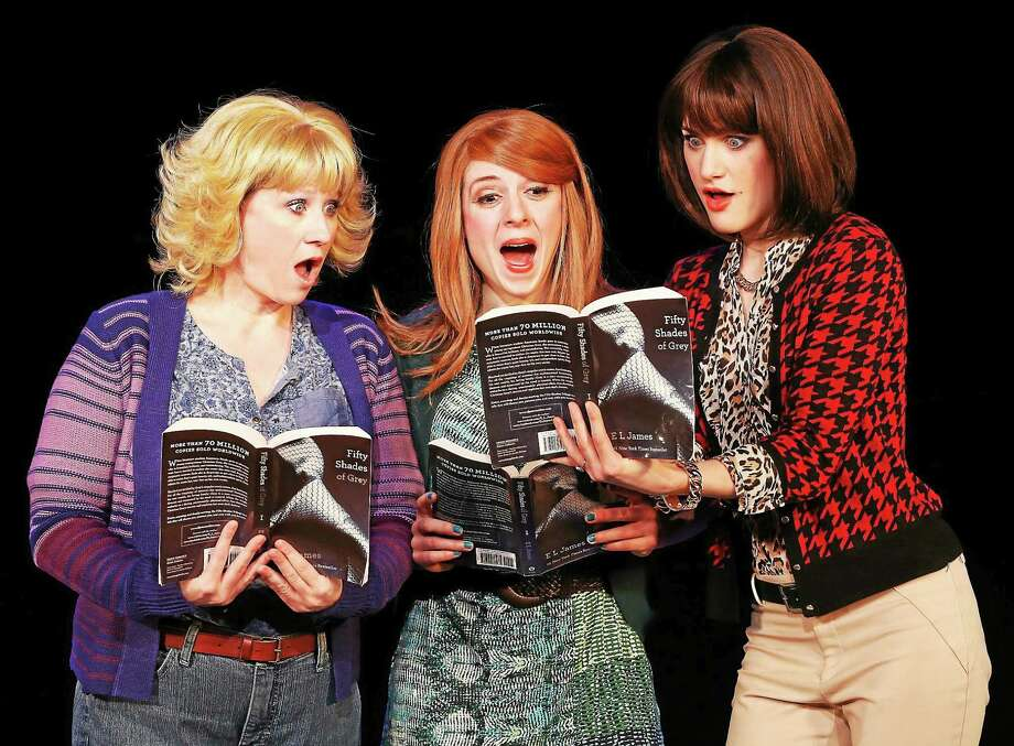 """Photos by Carol Rosegg """"The Book Club Ladies"""" from """"50 Shades,"""" which is performing at the Palace theater in Waterbury in late January. Photo: Journal Register Co."""