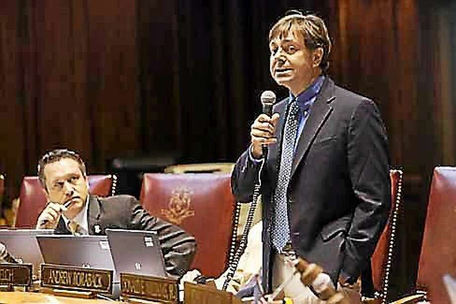 Andrew Roraback when he was in the state Senate. Photo: (ctnewsjunkie.com)