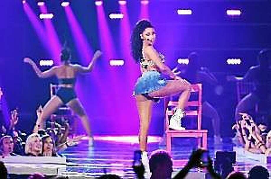 Nicki Minaj performs at Fashion Rocks 2014 at the Barclays center on September 9, 2014 in New York, United States. Photo: (Theo Wargo — Getty Images)