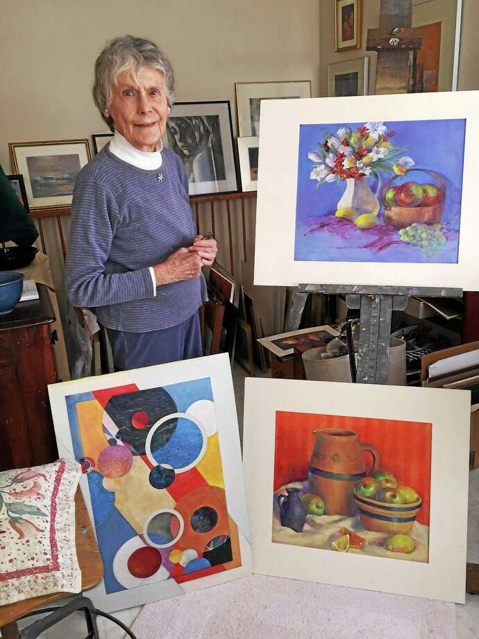 """Contributed photo Elizabeth Gillies """"Mike"""" Boyd will show her paintings at Chester Village West on May 22. Photo: Journal Register Co."""