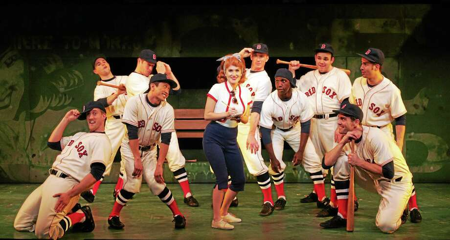 "Photos by Diane Sobolewski Lora Lee Gayer and the cast in a scene from ""Damn Yankees"" at Goodspeed Musicals in East Haddam. Photo: Journal Register Co. / ??2014 Diane Sobolewski / Goodspeed Musicals"