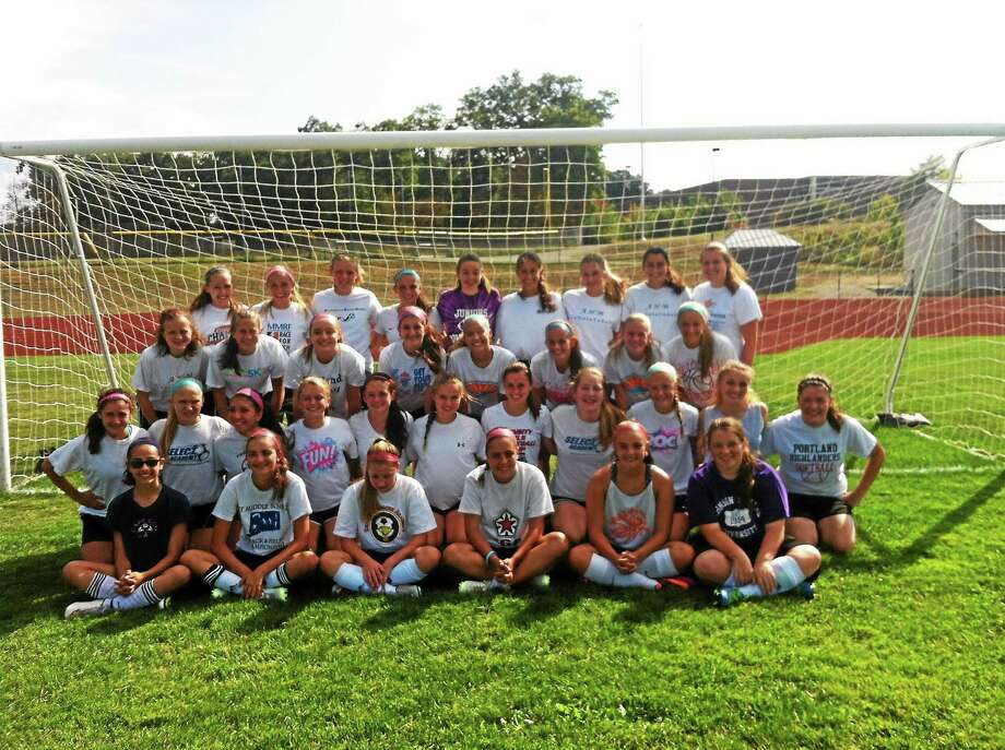 Submitted The 2015 Portland girls soccer team will be vying for their fourth straight trip to the state finals this fall. Photo: Journal Register Co.