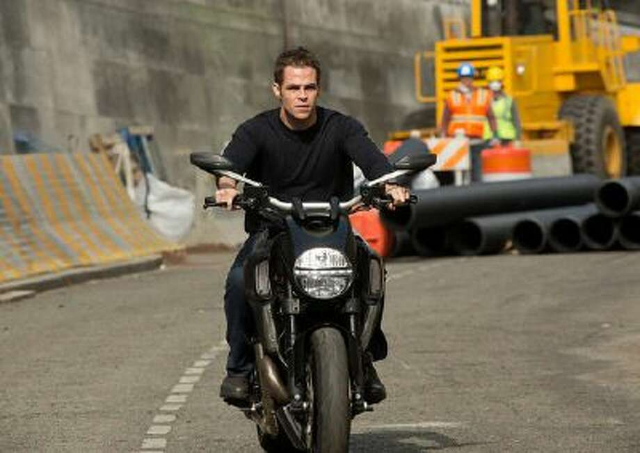 Chris Pine as Jack Ryan in the 2014 movie 'Jack Ryan: Shadow Recruit.'