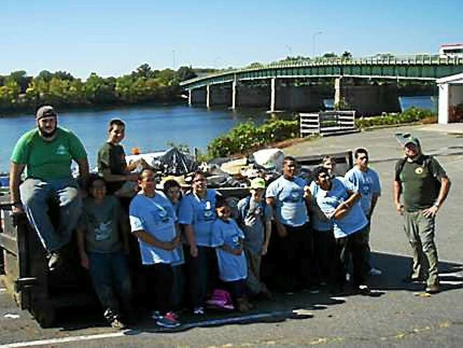 On Sept. 25 and 26, volunteers from businesses, faith communities, watershed groups, schools, community and youth organizations will grab trash bags and work gloves at Middletown's riverfront for the annual Source to Sea Cleanup organized by the Connecticut River Watershed Council. Photo: File