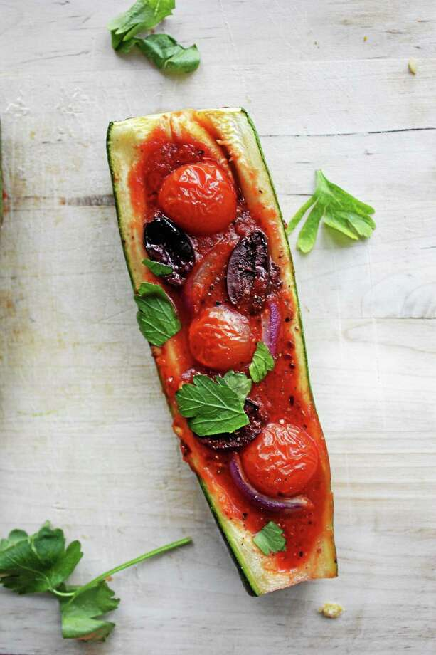 Zucchini boats are a simple but delicious recipe that fit in most diets. Submitted Photo Photo: Journal Register Co.