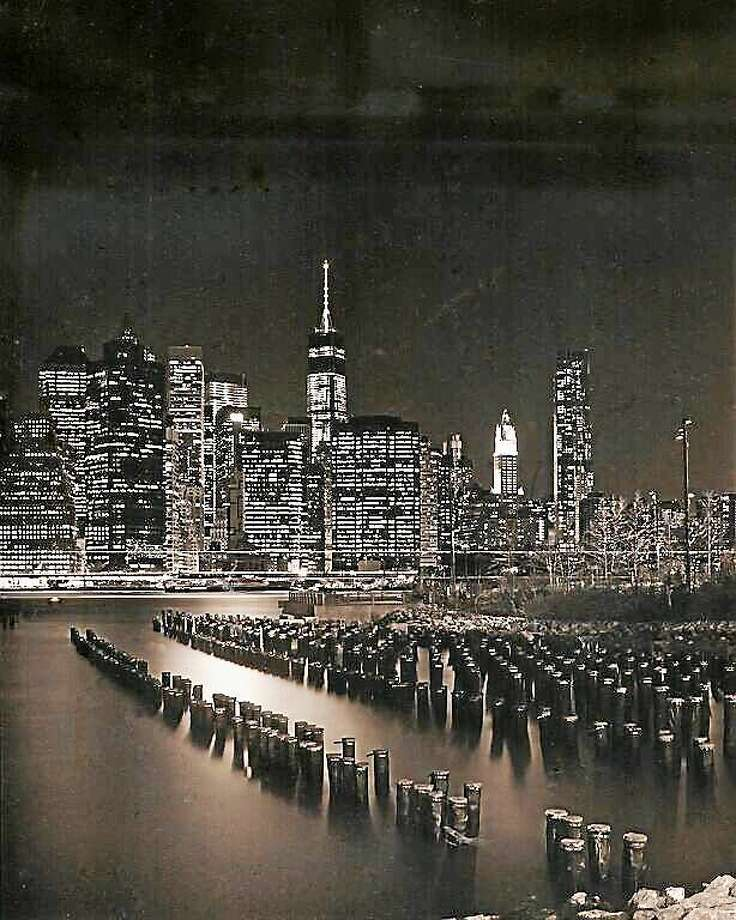 Contributed photos Tim Jones, Manhattan at Night. Photo: Journal Register Co.