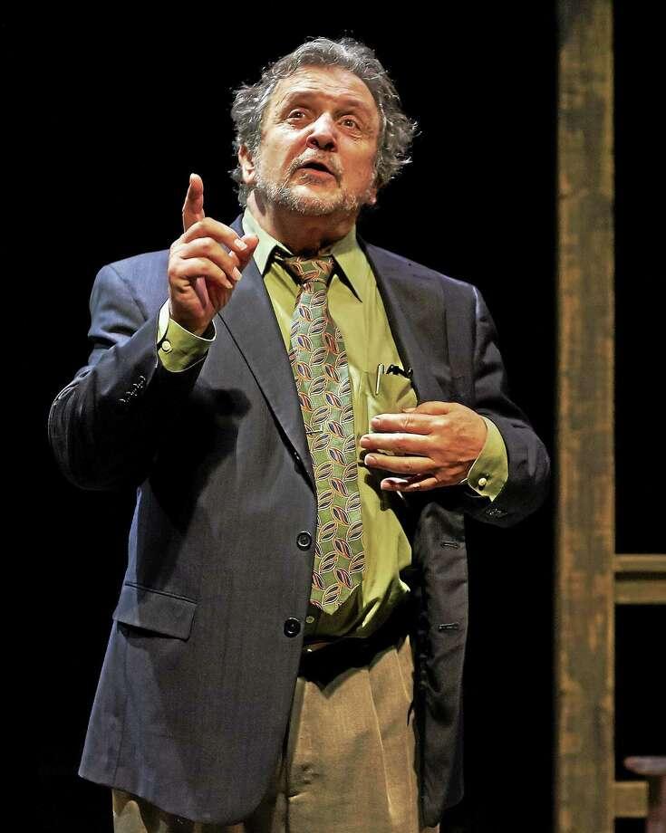 Photo courtesy of studioDUDA Above, Peter Loffredo in rehearsal as Dr. Dysart. Photo: Journal Register Co.