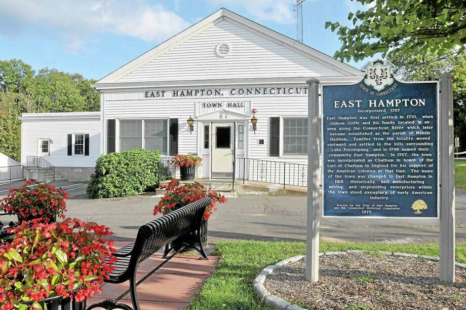 East Hampton Town Hall. Catherine Avalone - The Middletown Press Photo: Journal Register Co. / TheMiddletownPress