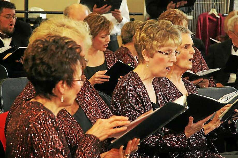 Middlesex Hospital Vocal Chords  The Middlesex Hospital Vocal Chords celebrate its 25th anniversary on Saturday with a milestone concert at Portland High School. Photo: Journal Register Co.