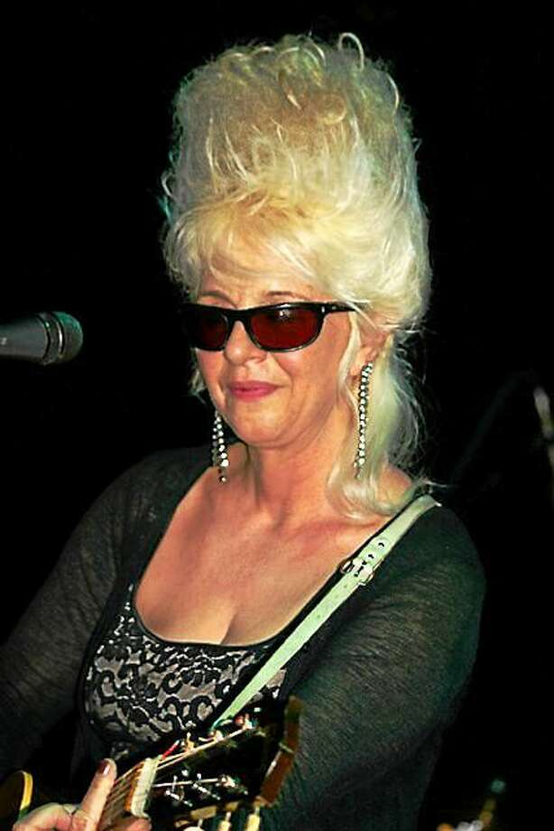 Contributed photo Christine Ohlman, the Beehive Queen, and Rebel Montez play Black-Eyed Sally's in Hartford Saturday, Sept. 12. Photo: Journal Register Co.