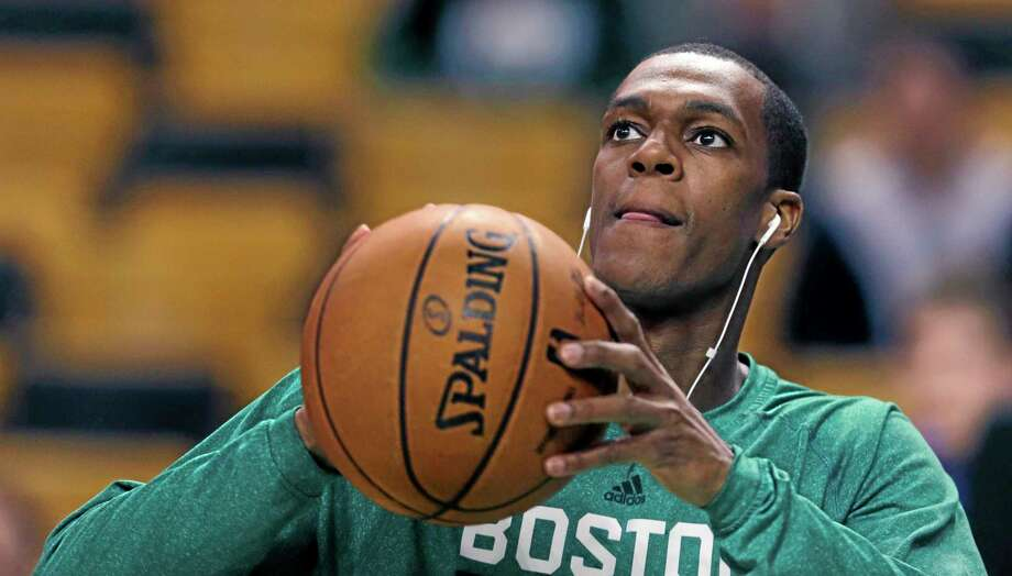 Boston Celtics point guard Rajon Rondo is slated to return and make his season debut against the Los Angeles Lakers. Photo: Charles Krupa — The Associated Press  / AP