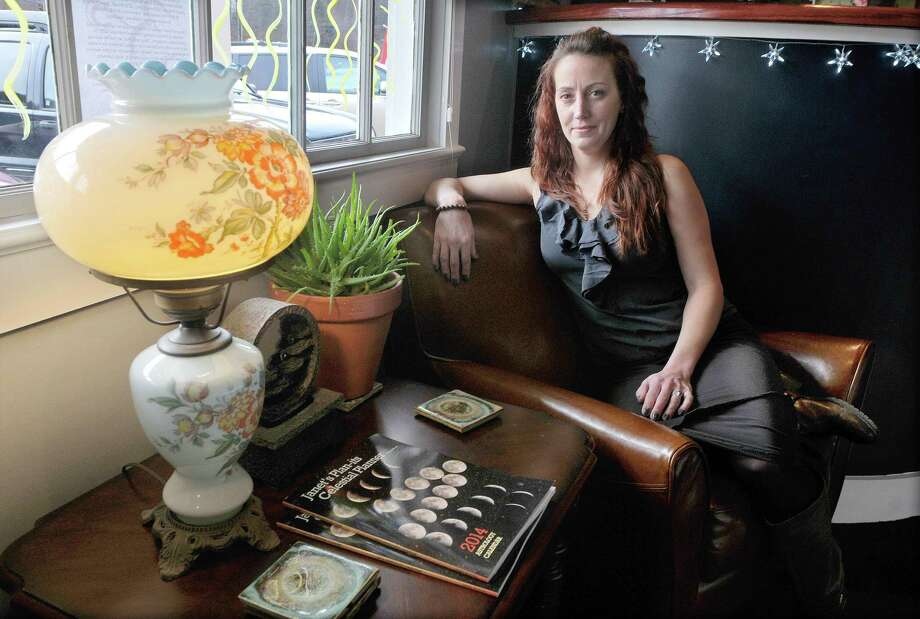 Rubianne Mislick, master Reiki practitioner and owner of Rubi's Room at 1610 Saybrook Road at the Tylerville Center in Haddam. Photo: Catherine Avalone — The Middletown Press  / TheMiddletownPress