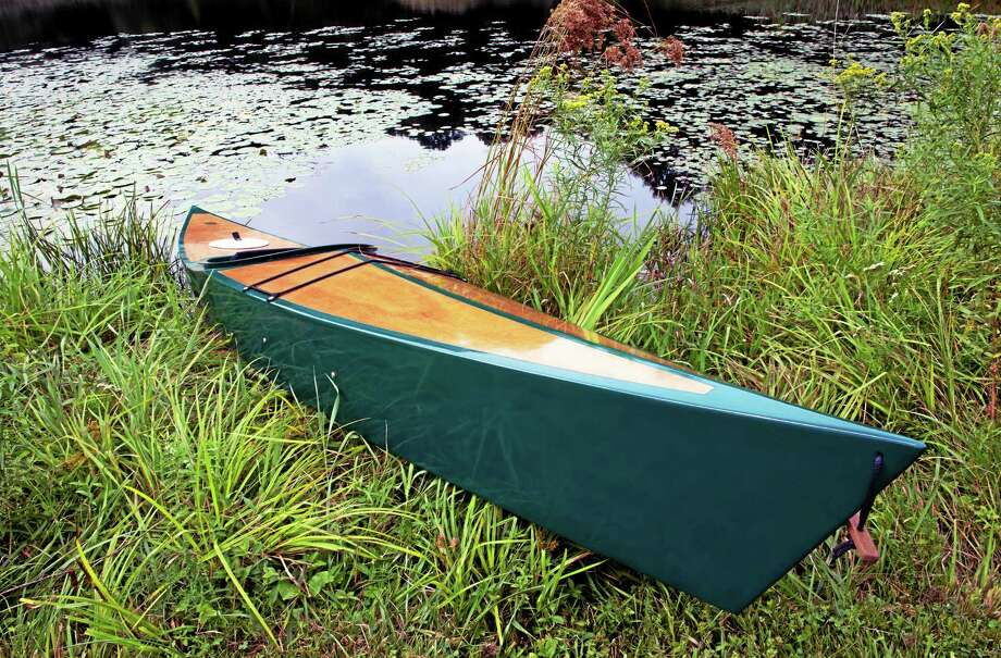 The East Haddam Land Trust's silent auction Jan. 16 includes offerings such as this hand-crafted kayak. Photo: Courtesy Ralph Chappell  / unknown