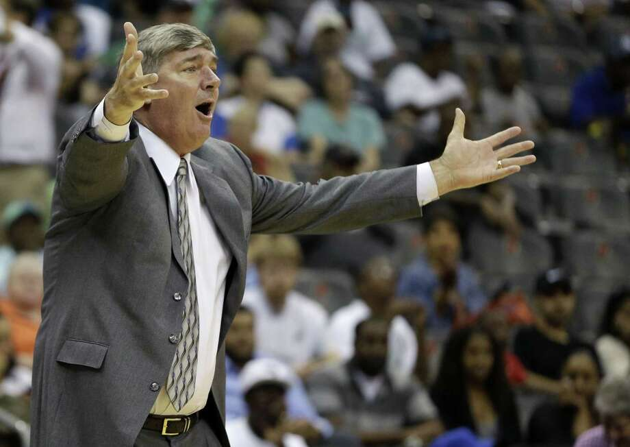 The New York Liberty have rehired Bill Laimbeer as head coach. Photo: Julio Cortez — The Associated Press File Photo  / AP