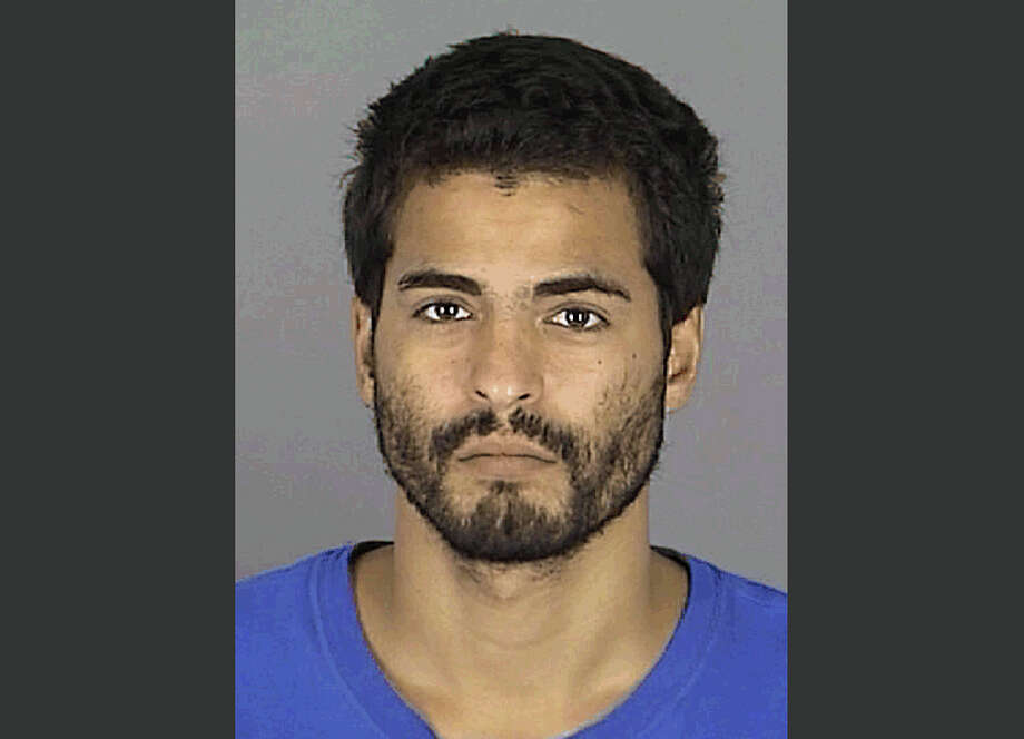 This photo provided by the Pasco County Sheriff's Office shows Adam Matos. Matos, 28, was arrested Friday, Sept. 5, 2014 outside a Tampa hotel as a suspect in the killings of four people whose bodies were found stacked on the ground and decomposing in a neighborhood some 45 miles away. (AP Photo/Pasco County Sheriff's Office) Photo: AP / Pasco County Sheriff