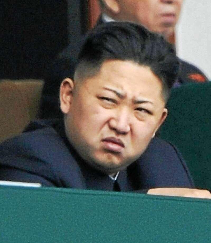 Kim Jong Un Photo: AP File Photo