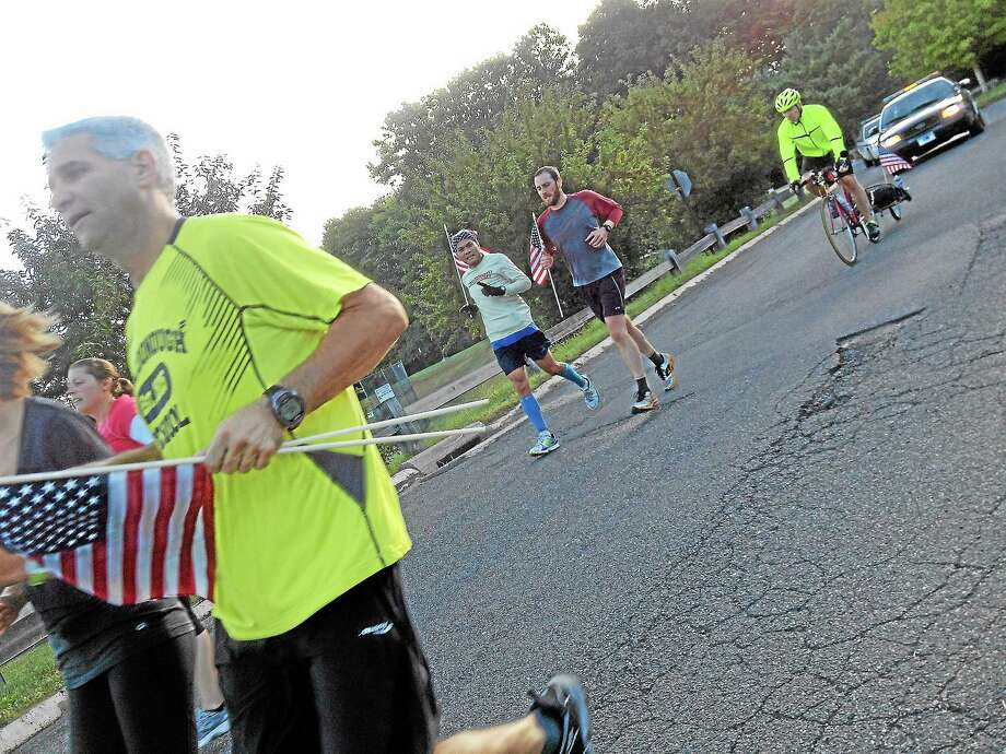The fourth annual Run for the Fallen CT was held at Wilbert Snow Elementary School in Middletown in 2013. Photo: Middletown Press File Photo